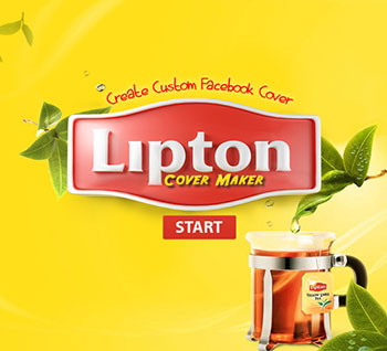 Lipton Cover Maker App