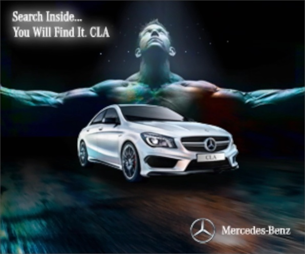 Mercedes - CLA Search Inside