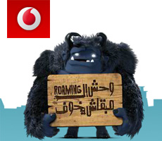 Vodafone - Roaming Monster